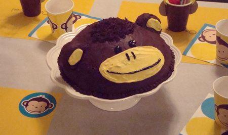 Monkey cake 1