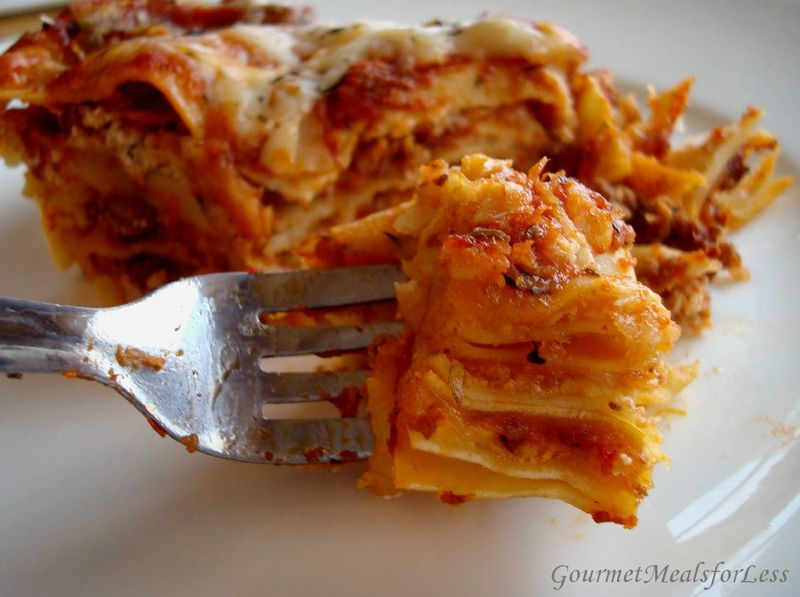 4 layer lasagna 1