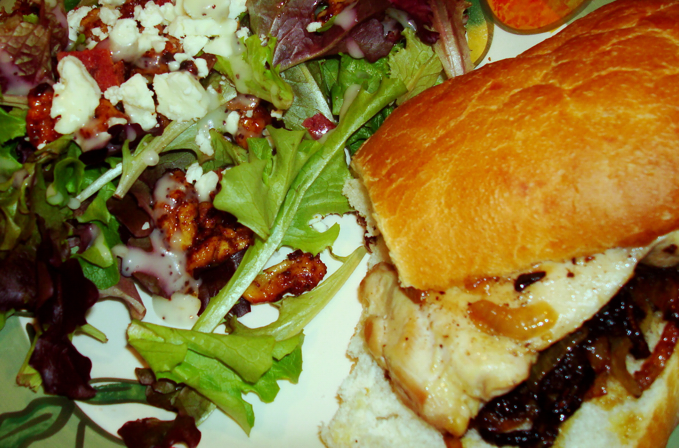 Rachael Ray chicken sandwich